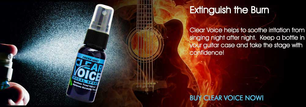 Clear Voice Vocal Spray For Singers